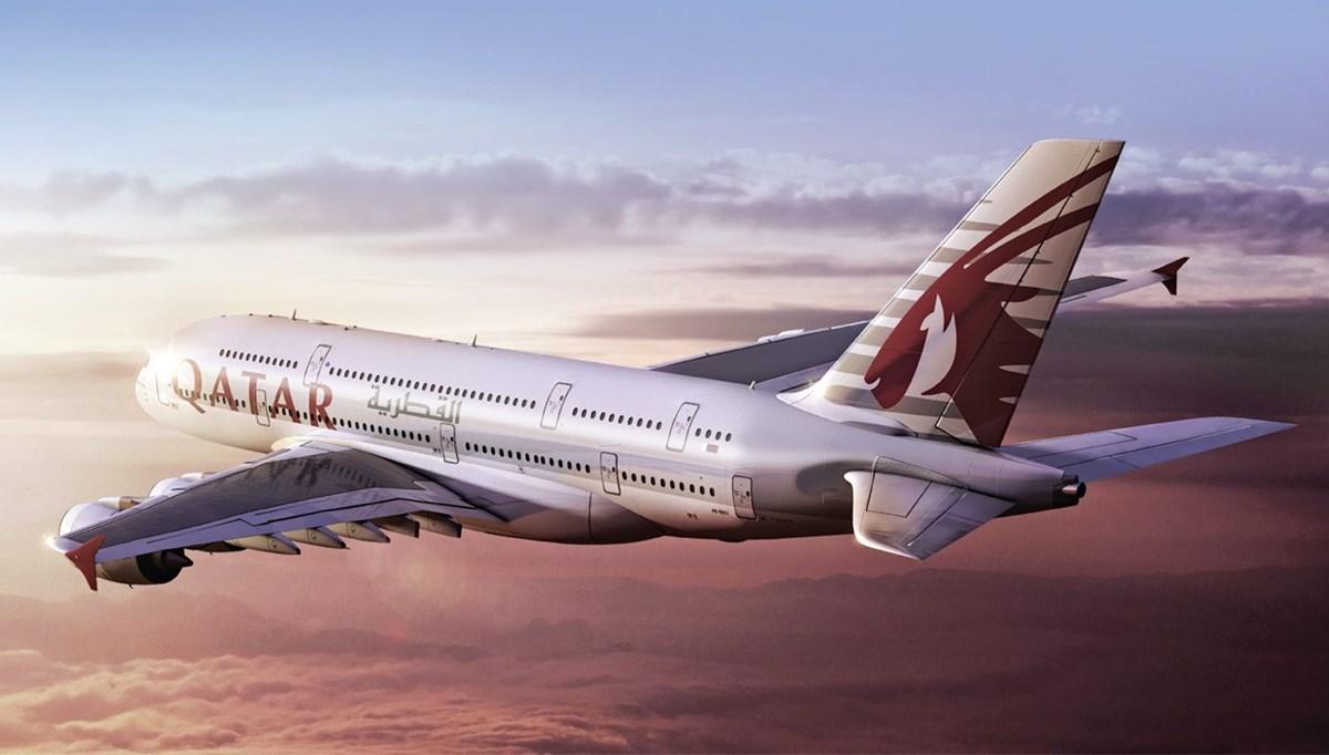 Katar Hava Yolları Airbus A380'lerin uçuşunu durdurdu