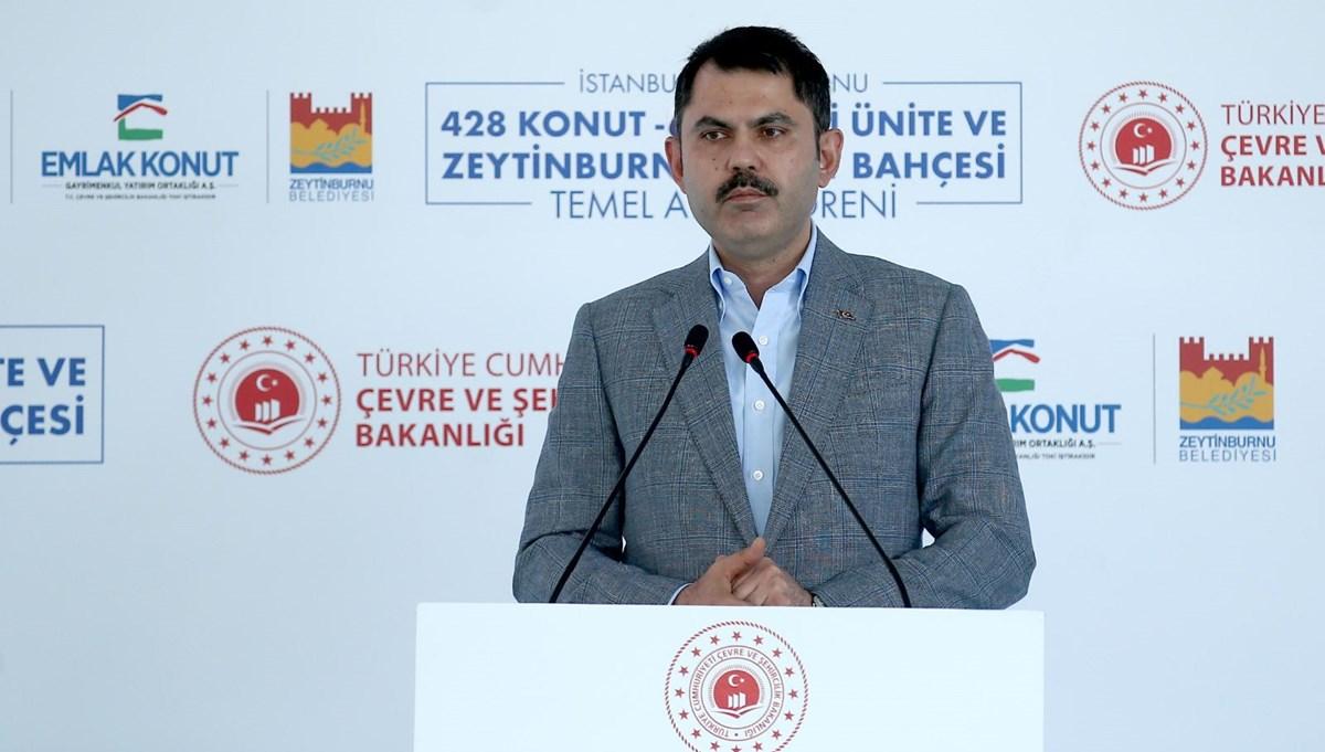Bakan Kurum: İstanbul'da 300 bin konutun acil bir şekilde dönüştürülmesi hedefi koyduk