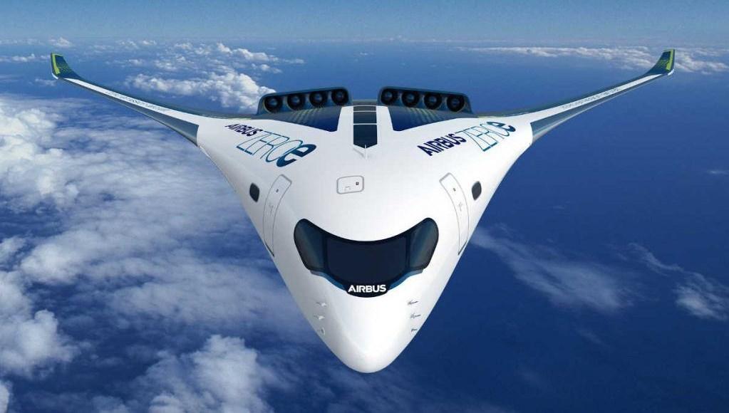 Airbus yeni sıfır emisyonlu yolcu uçağını duyurdu