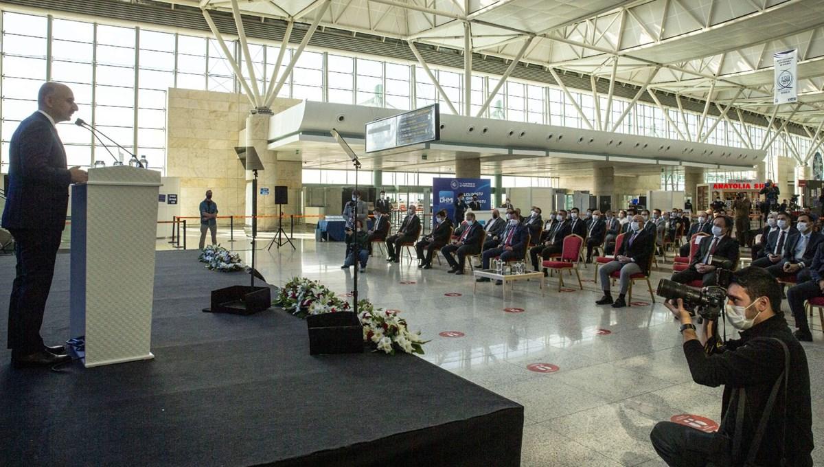 Bakan Karaismailoğlu açıkladı: Havalimanlarında ücretsiz 2 GB internet
