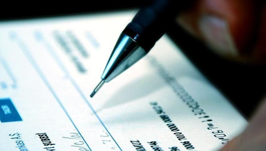 Çekte bankanın ödemekle sorumlu olduğu miktar 2 bin 670 liraya çıkarıldı