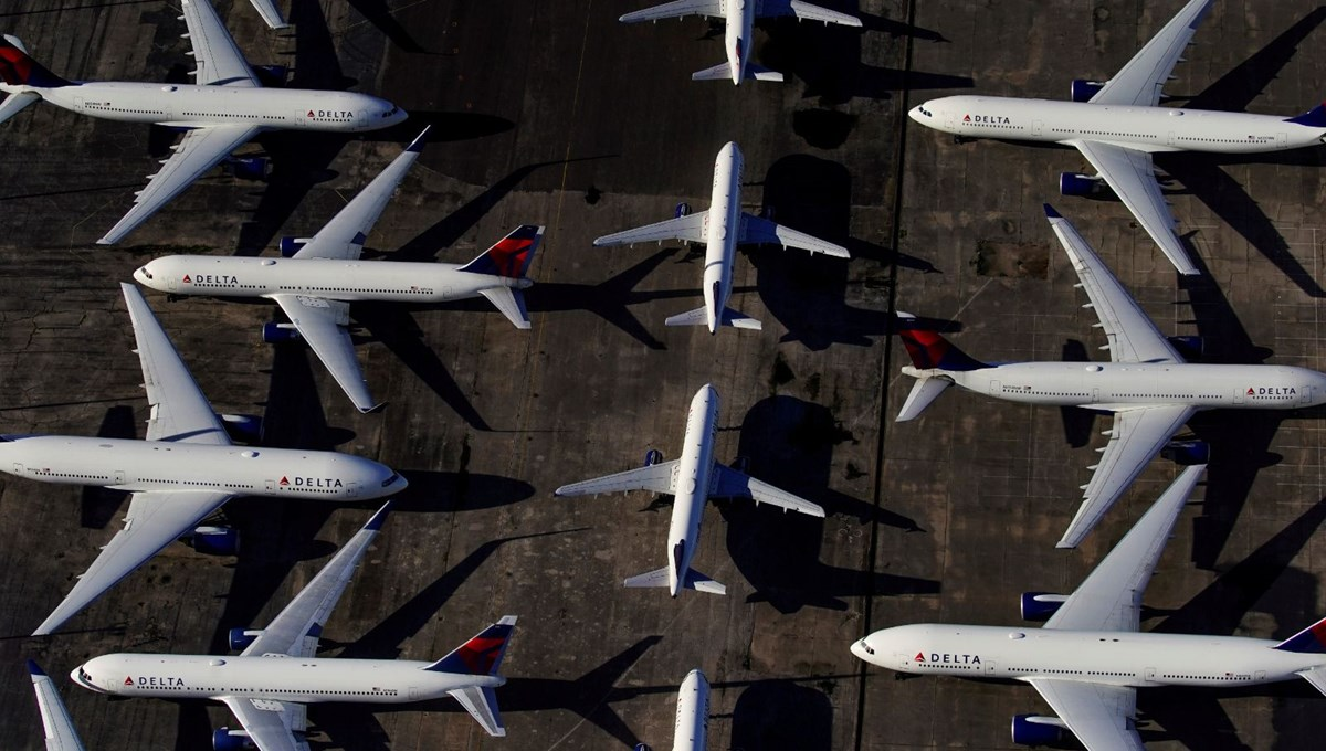 Delta Hava Yolları 2020'de 12,4 milyar dolar zarar etti