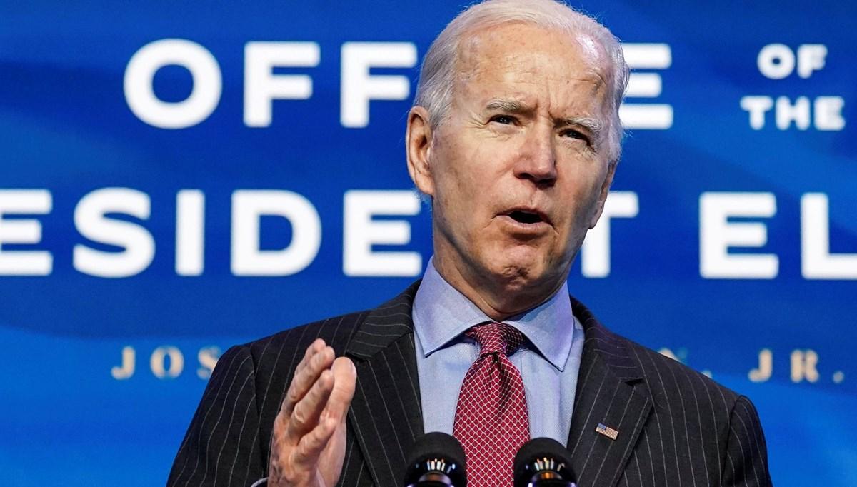 Biden'dan 1,9 trilyon dolar Covid-19 yardım paketi önerisi