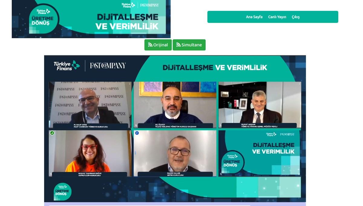 Türkiye Finans Katılım Bankası Genel Müdür Vekili Murat Akşam: İnsana yatırım yapmaya devam edeceğiz