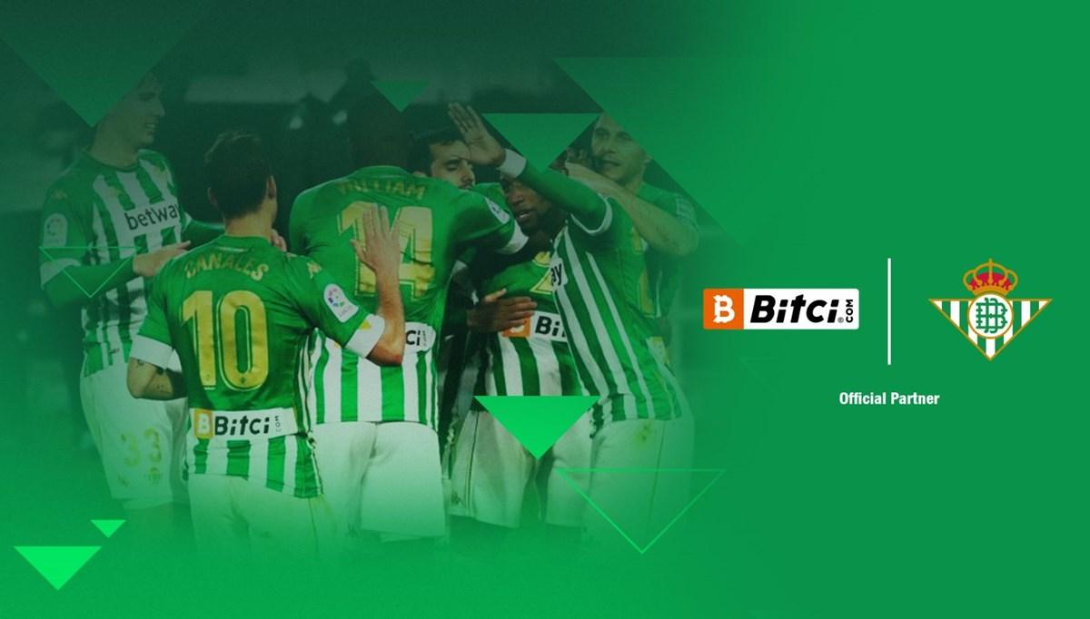 Bitci Teknoloji, Real Betis'in resmi sponsoru oldu