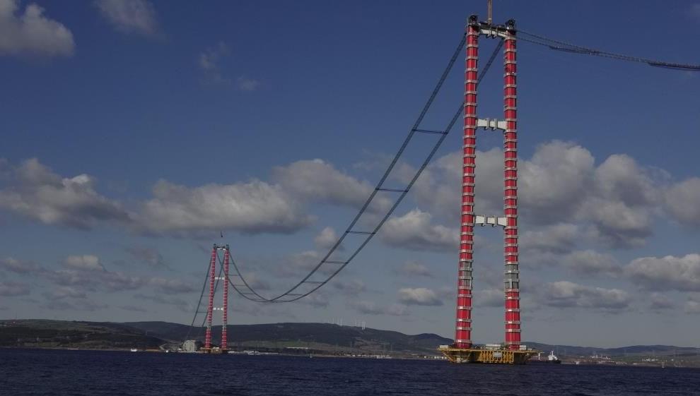 Bakan Karaismailoğlu: Çanakkale Köprüsü ile yılda 567 milyon lira tasarruf sağlayacağız