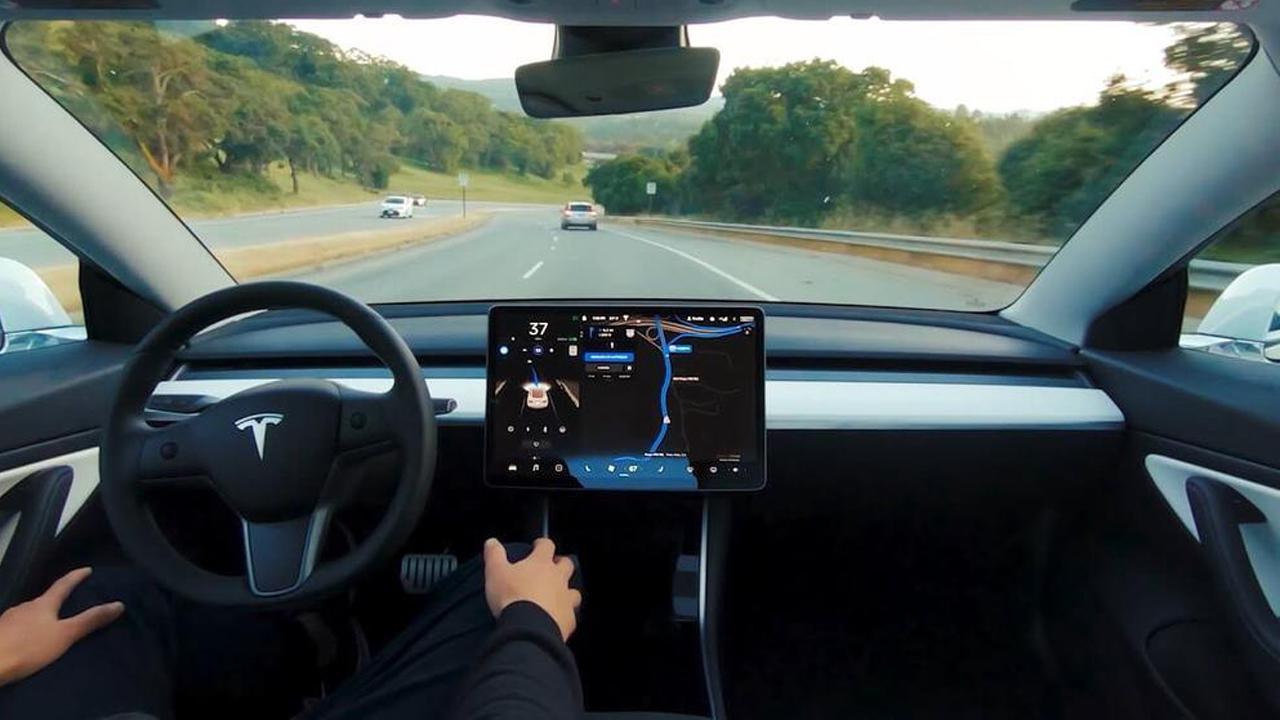 Tesla sürücüsü