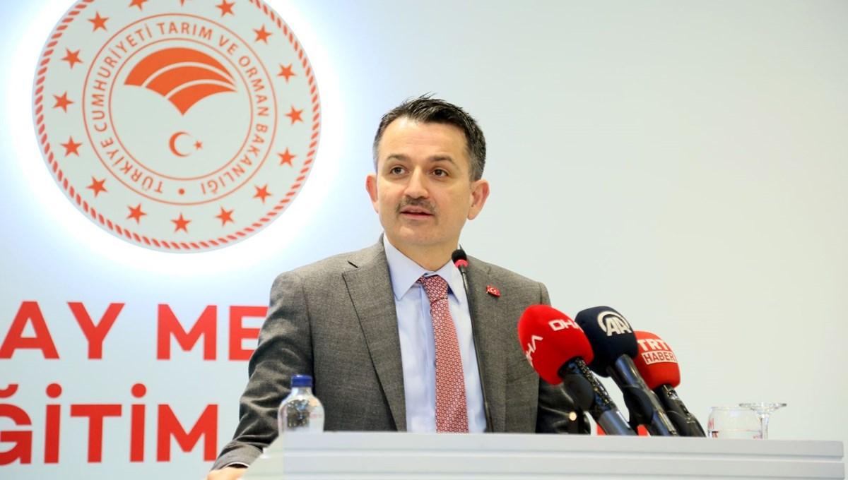 Bakanı Pakdemirli: İstanbul, İzmir ve Ankara için bu yıl suyla ilgili problem yok