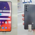 Samsung Galaxy Quantum 2 çalışırken görüntülendi