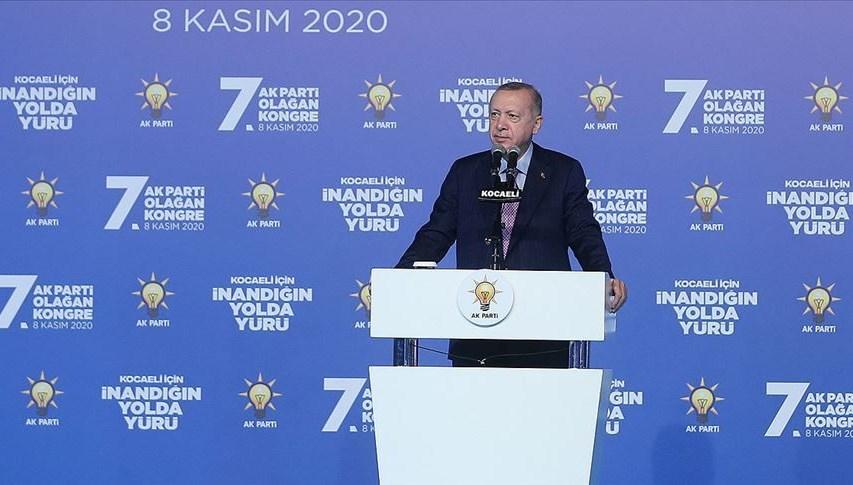 Cumhurbaşkanı Erdoğan: Azerbaycanlı kardeşlerimizin Şuşa zaferini tebrik ediyorum