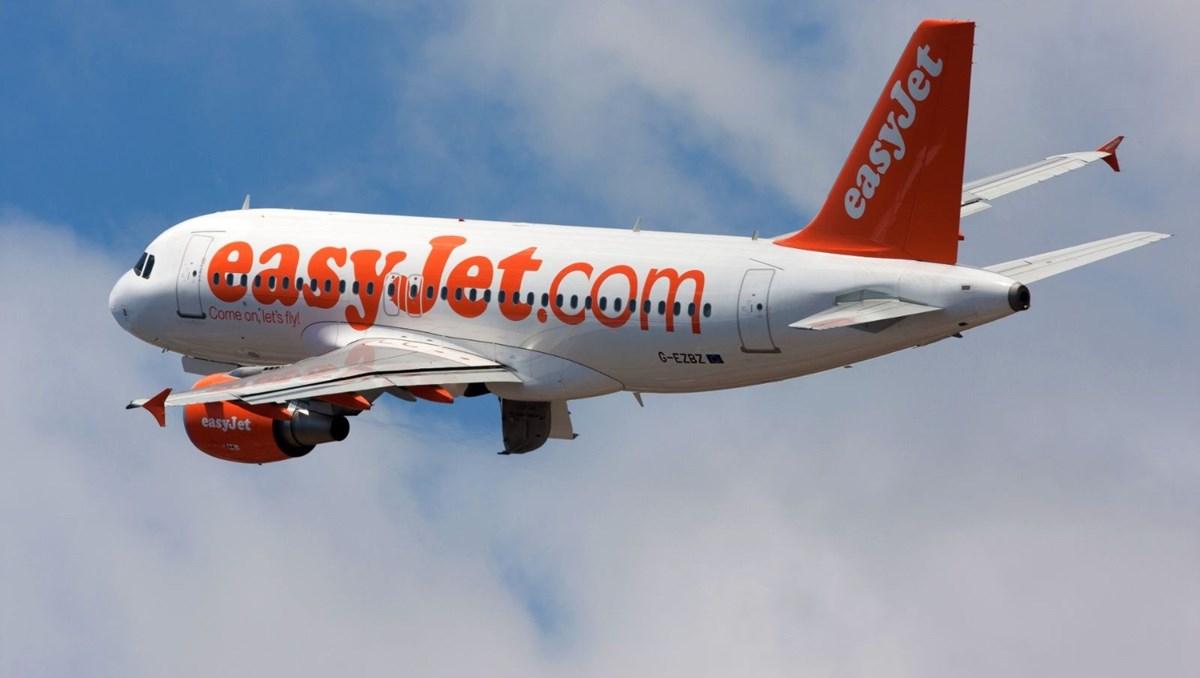 EasyJet'in yaz rezervasyonu yüzde 250 arttı